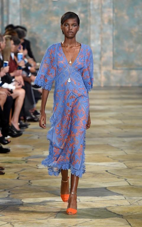 Cover-up - Credit: Getty Images for Tory Burch