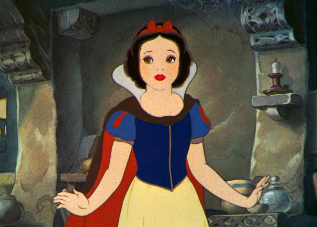 <p>Snow White is from the 1937 film <strong>Snow White and the Seven Dwarves</strong>.</p>