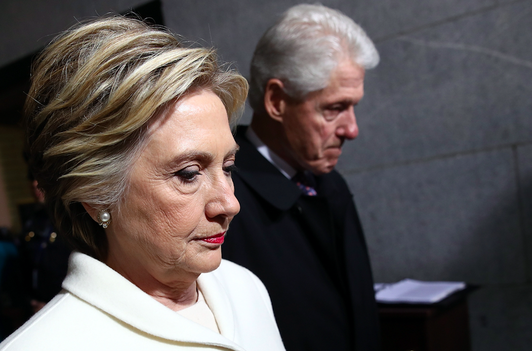 <em>An explosive device was found at Bill and Hillary Clinton's New York home (Getty)</em>