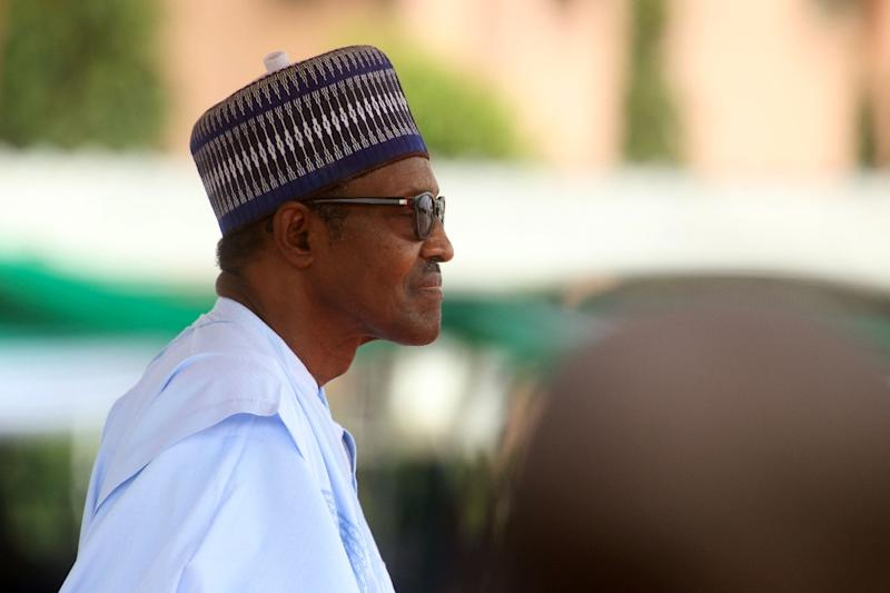 Nigeria's President Muhammadu Buhari was the sole contender for the ruling All Progressives Congress party