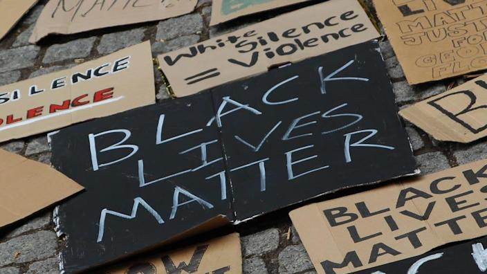 'BLM protesters marched because young people feel we haven't moved on far enough with race and equality', one local saidPA