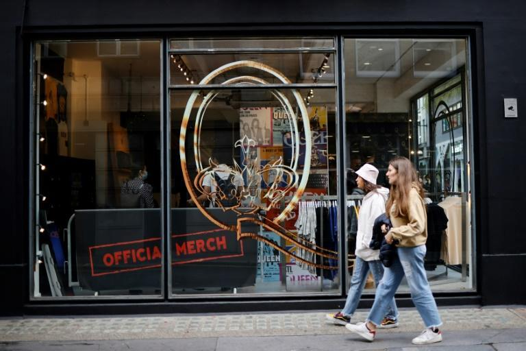 The store will be open for three months on the famous Carnaby Street (AFP/Tolga Akmen)