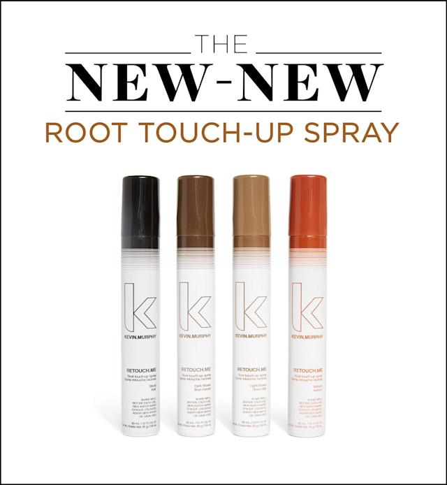 Kevin Murphy Retouch.Me root touchup spray. (Photo: Courtesy of Kevin Murphy; Art by Quinn Lemmers for Yahoo Lifestyle)