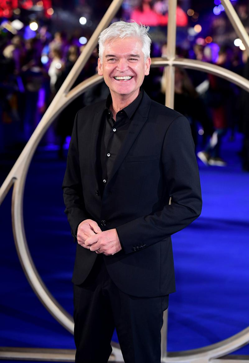 """Phillip Schofield who has admitted he knew he was gay when he got married in 1993, but that he was """"naive"""" to think he could suppress his sexuality.. Issue date: Sunday February 9, 2020. The co-host of ITV's This Morning came out on the show last Friday."""