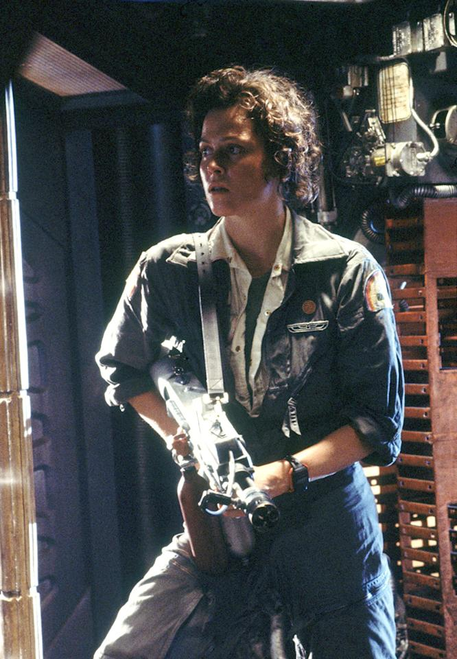 "Briana's Pick: <a href=""http://movies.yahoo.com/movie/contributor/1800015109"">SIGOURNEY WEAVER</a> -- <a href=""http://movies.yahoo.com/movie/1800020133/info"">Alien</a>   ""Sigourney Weaver did a fabulous job in 'Alien.' She had such a natural factor about her. Never overacting, and really making you believe her every moment. She's so simple and beautiful on screen. I also loved her as the villain in 'Snow White' years ago. She seriously scared me as a kid."""