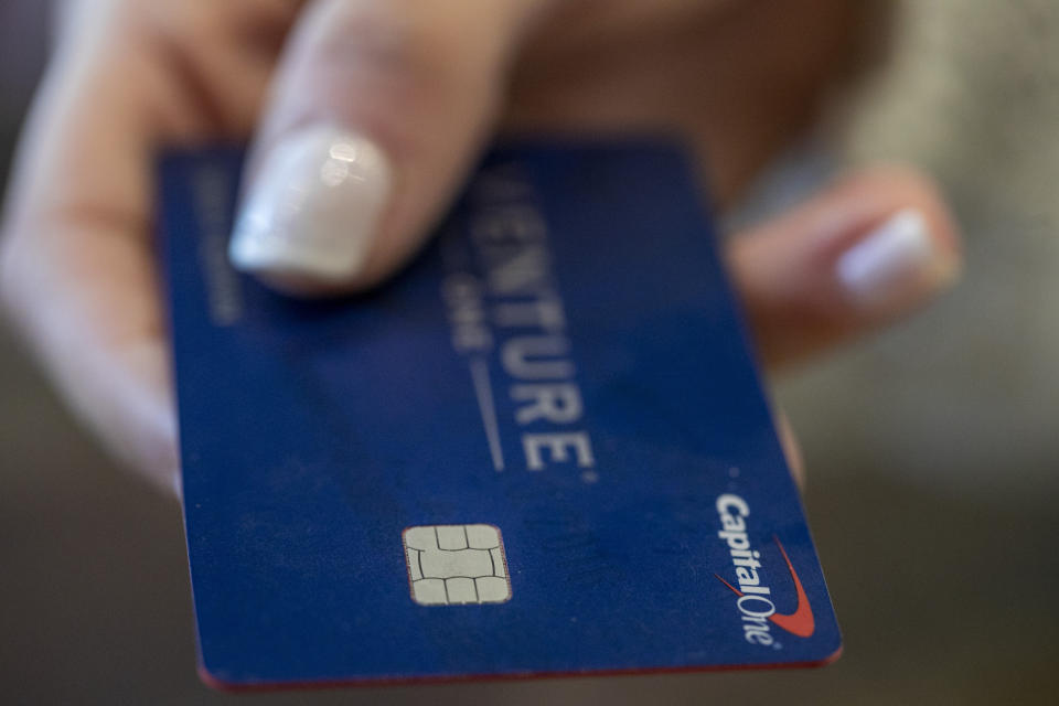 Make sure you use your credit card wisely. (Photo: AP Photo/Jenny Kane)