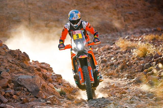 "#3 Red Bull KTM Factory Racing: Sam Sunderland <span class=""copyright"">A.S.O. </span>"
