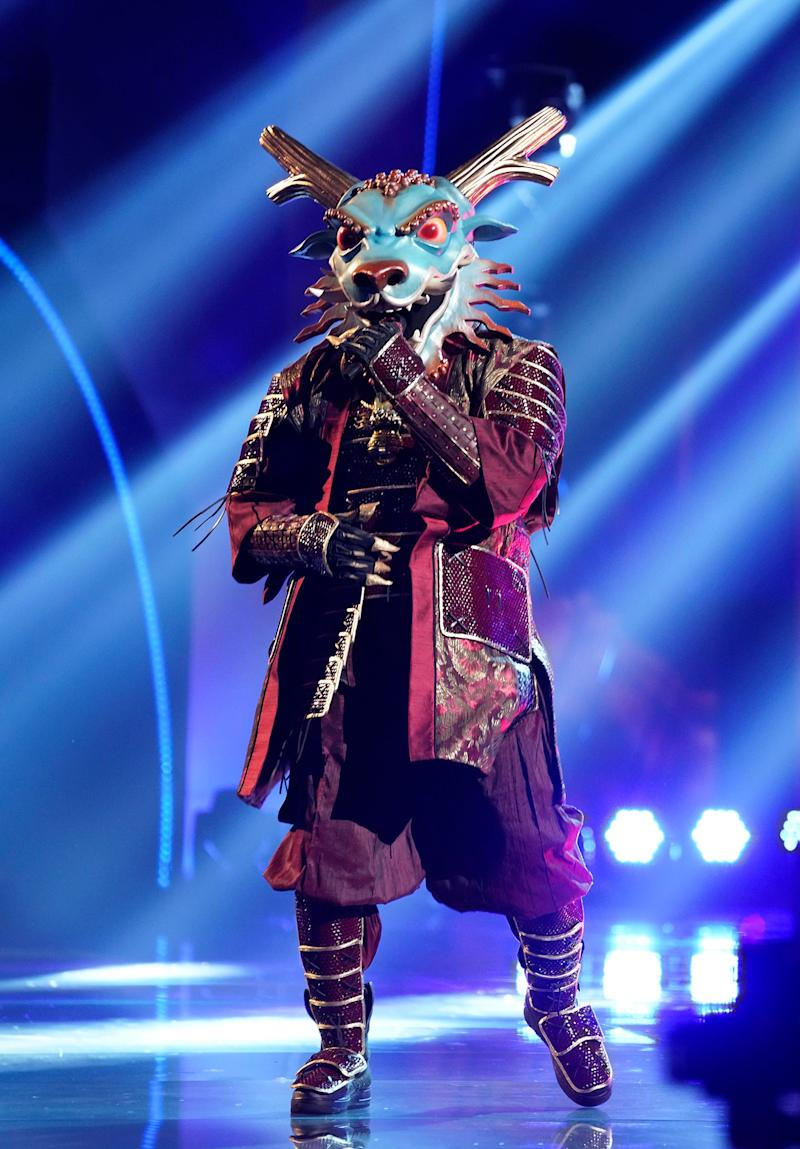 """""""Masked Singer"""" has unleashed the Dragon."""