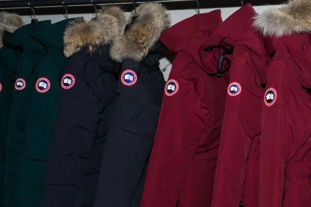 A view inside Canada Goose's U.S. flagship store on Nov. 16, 2016 in New York City.