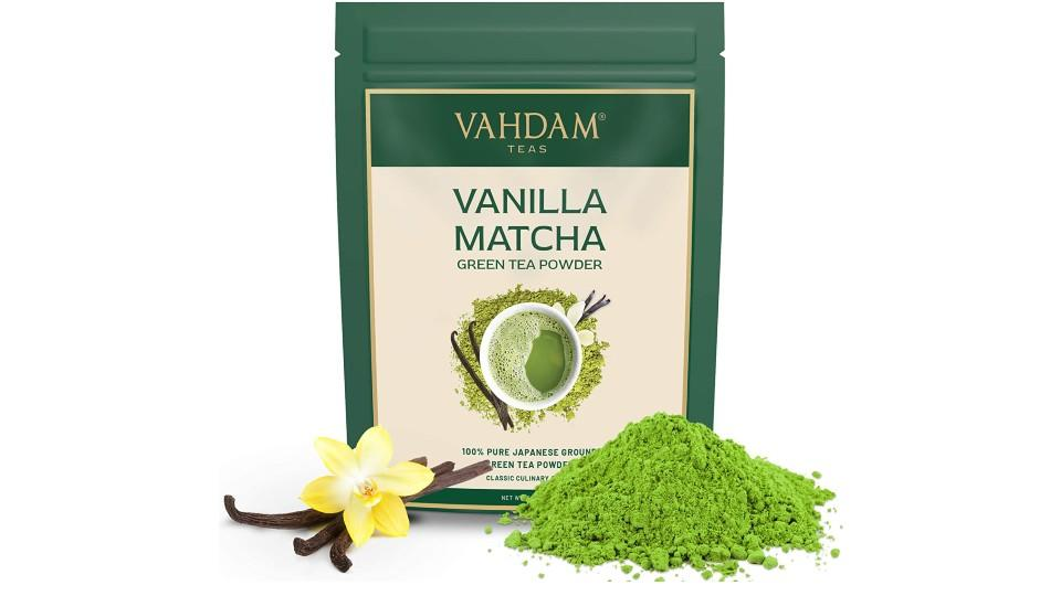 Vahdam Vanilla + Matcha Green Tea Powder - Amazon, $14