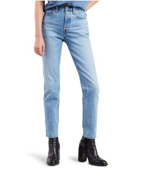 "Normally $98, these <a href=""https://yhoo.it/38HJOfY"" rel=""nofollow noopener"" target=""_blank"" data-ylk=""slk:Levi's Wedgie Icon Fit High Waist Ankle Jeans"" class=""link rapid-noclick-resp"">Levi's Wedgie Icon Fit High Waist Ankle Jeans</a> are <a href=""https://yhoo.it/38HJOfY"" rel=""nofollow noopener"" target=""_blank"" data-ylk=""slk:on sale for $30 at Nordstrom"" class=""link rapid-noclick-resp"">on sale for $30 at Nordstrom</a>."