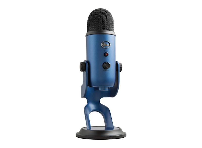 BLUE Yeti USB Microphone (Midnight). (Photo: Amazon)