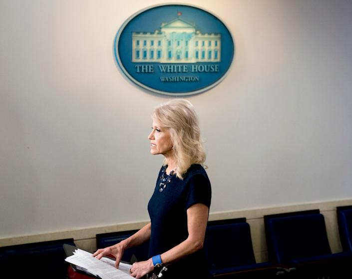kellyanne conway white house trump administration sexist
