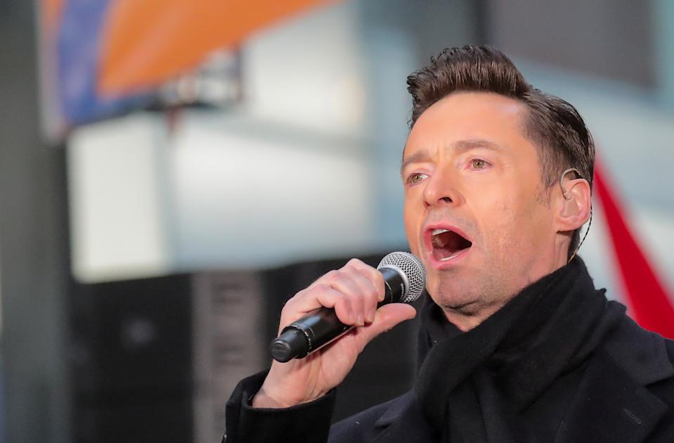 Hugh Jackman performs on NBC's 'Today' show in New York City, U.S., December 4, 2018. REUTERS/Brendan McDermid