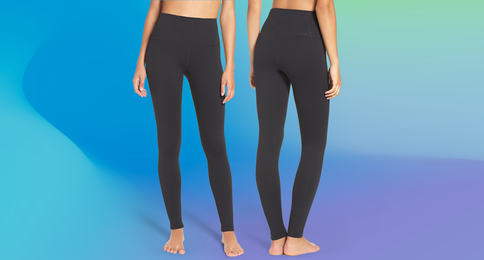 You're never going to want to wear pants again after trying these comfortable, figure-flattering leggings. (Photo: Nordstrom; Yahoo Lifestyle)