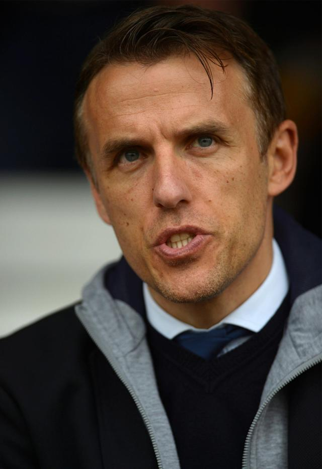 Soccer Football - Women's Champions League Semi Final First Leg - Chelsea v VfL Wolfsburg - The Cherry Red Records Stadium, London, Britain - April 22, 2018 England women's manager Phil Neville Action Images via Reuters/Adam Holt