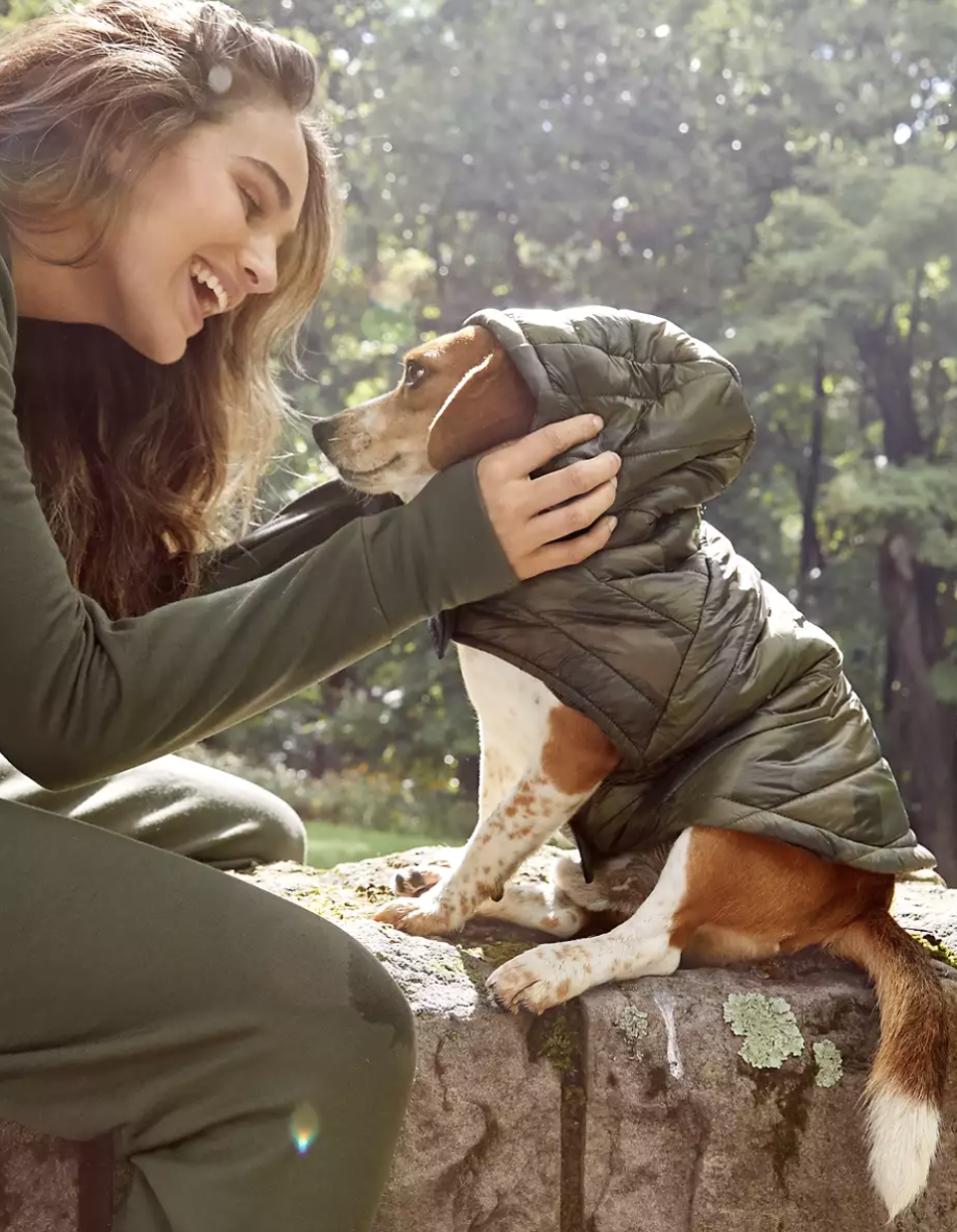 OFFLEASH By Aerie Puppy Puffer Jacket.