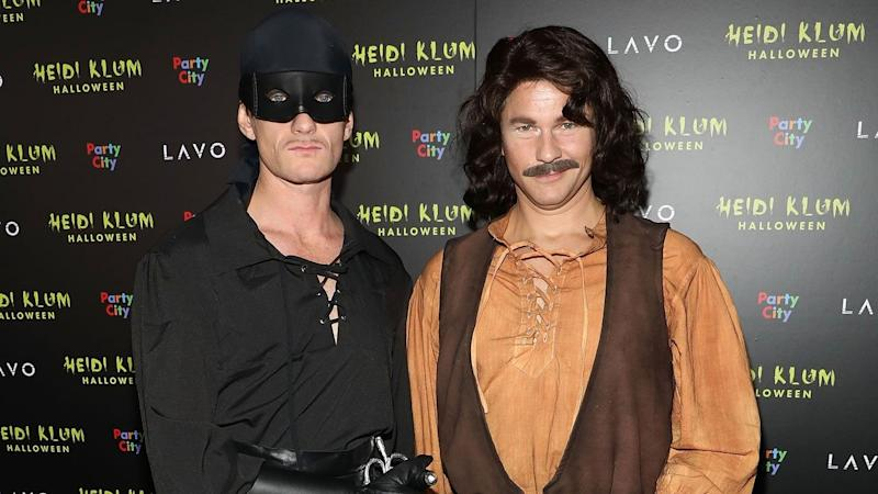 Here's Your Frighteningly Artistic Reminder That Neil Patrick Harris' Family Ruled Halloween Again