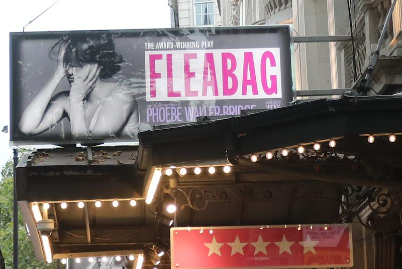 A general view of the Wyndham's Theatre, London, where Phoebe Waller-Bridge's comedic play, Fleabag, has been on the stage for a number of weeks before closing in September 14th. Picture dated: September Tuesday 10, 2019. Photo credit should read: Isabel Infantes / EMPICS Entertainment.