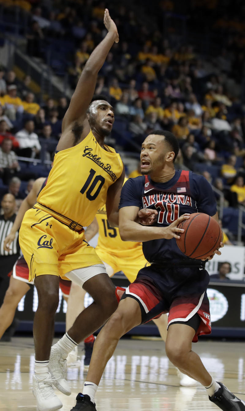 Nnaji scores 21, helps sluggish Arizona beat Cal 68-52