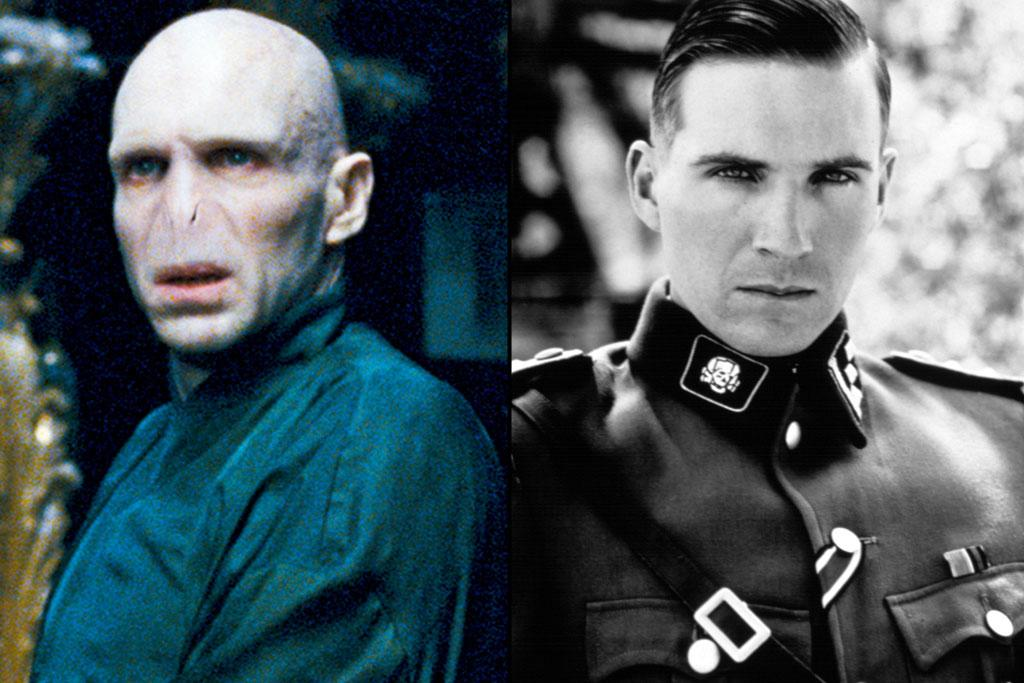 "Actor: <a href=""http://movies.yahoo.com/movie/contributor/1800019488"">Ralph Fiennes</a>  ""Harry Potter"" Role: Lord Voldemort    Before he played He-Who-Shall-Not-Be-Named, Ralph Fiennes first garnered critical attention, and his first Oscar nomination, as another memorable movie villain -- Amon Goth from ""<a href=""http://movies.yahoo.com/movie/1800205324/info"">Schindler's List</a>."" Fiennes put on 28 pounds for the role of the Nazi officer by drinking Guinness beer."