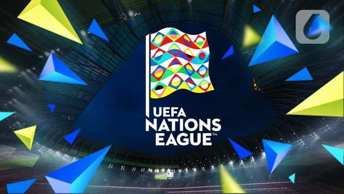 ilustrasi logo UEFA Nations League (Liputan6.com/Abdillah)