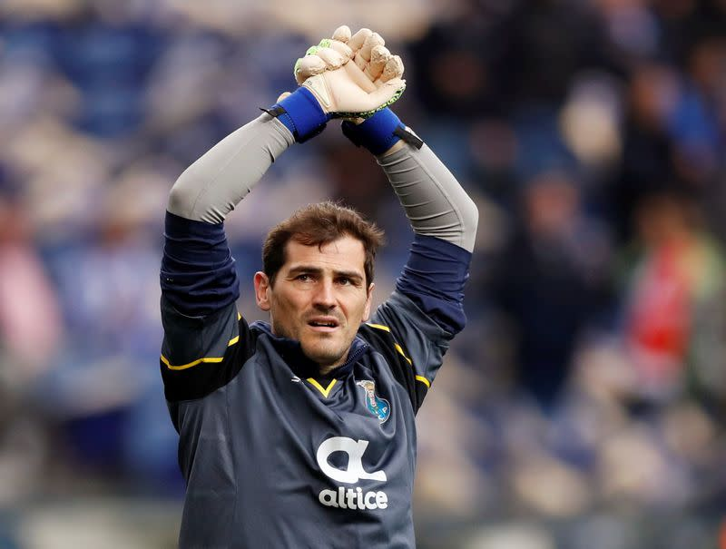 Spanish World Cup winner Casillas calls time on career aged 39