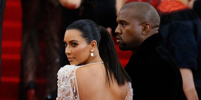 Kanye West directs several freakish messages towards Kim Kardashian and Kris Jenner