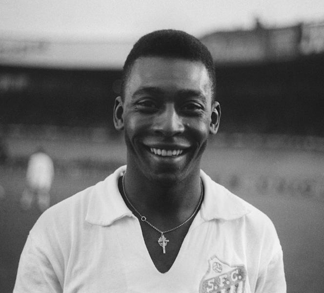 With Pele in their side, Santos continually played friendlies, including a game against French club Racing in the Paris suburbs in 1961 (AFP Photo/STAFF)