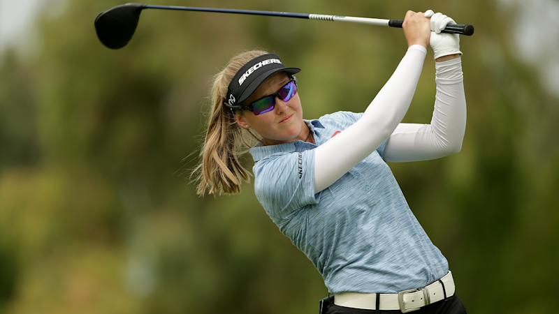 Henderson makes move, joins Korda in ANA Inspiration lead
