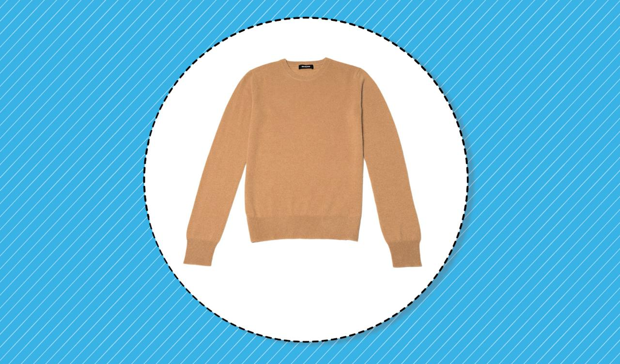 <p>Shop cashmere sweaters that fit your style and budget. (Photo J.Crew/Nordstrom, Art: Yahoo Lifestyle photo-illustration) </p>