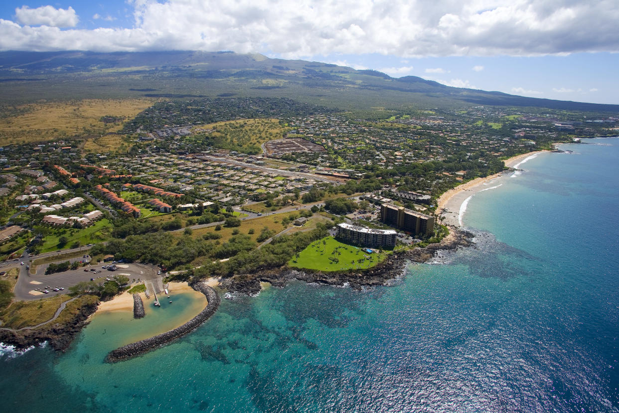 The Kihei coastline in Maui, Hawaii. (Photo: Ron Dahlquist/Perspectives/Getty Images)
