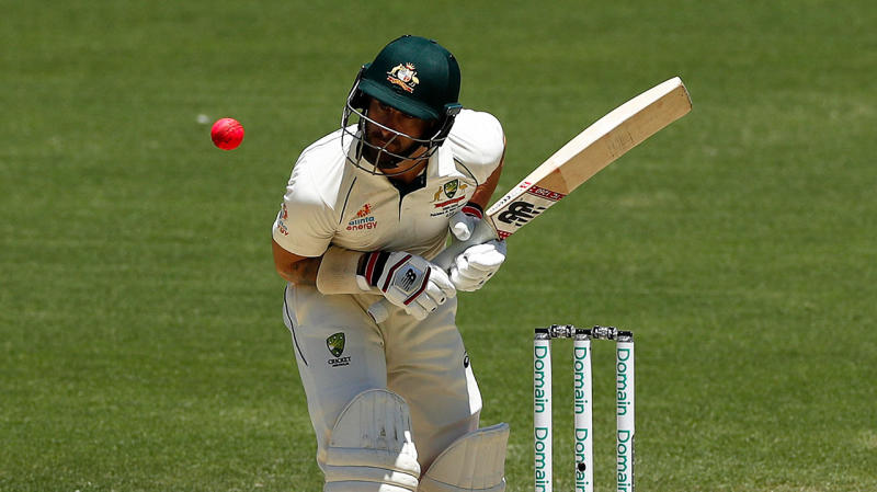 Matthew Wade was peppered with short ball against New Zealand. (Getty Images)