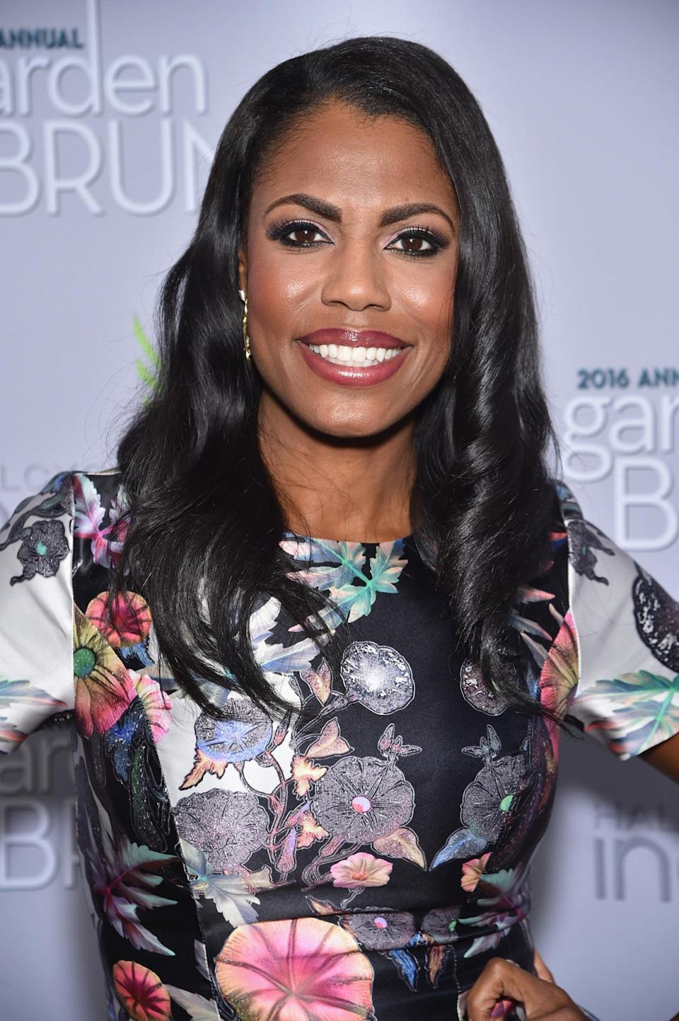 <p>Omarosa Manigault attends the Garden Brunch prior to the 102nd White House Correspondents' Dinner, April 30. <i>(Photo: Dimitrios Kambouris/Getty Images)</i></p>