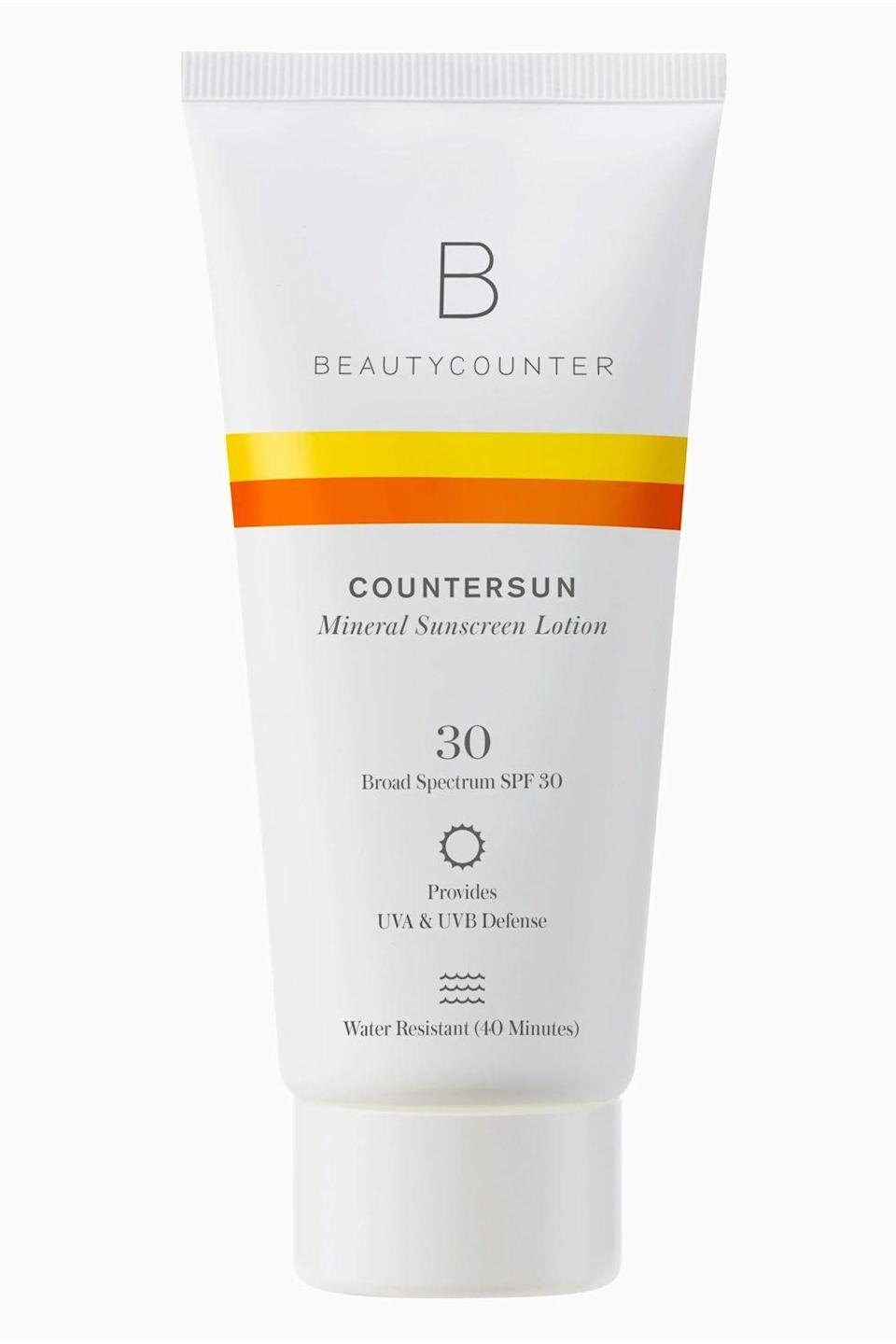 "<p>beautycounter.com</p><p><strong>$25.00</strong></p><p><a href=""https://go.redirectingat.com?id=74968X1596630&url=https%3A%2F%2Fwww.beautycounter.com%2Fproduct%2Fcountersun-mineral-sunscreen-lotion-spf-30-travel-size&sref=https%3A%2F%2Fwww.cosmopolitan.com%2Fstyle-beauty%2Fbeauty%2Fg35492705%2Fhauliday-winter-skincare-deals-2021%2F"" rel=""nofollow noopener"" target=""_blank"" data-ylk=""slk:Shop Now"" class=""link rapid-noclick-resp"">Shop Now</a></p><p>Reminder: You should be wearing <a href=""https://www.cosmopolitan.com/style-beauty/beauty/advice/g3973/best-new-sunscreens/"" rel=""nofollow noopener"" target=""_blank"" data-ylk=""slk:SPF"" class=""link rapid-noclick-resp"">SPF</a> 30 or more all year long—yep, even in the winter. Sun damage is cumulative, so every little bit of unprotected exposure puts you at risk for skin damage, and more seriously, skin cancer. Each morning apply a nickel-size blob of this SPF to your face, neck, and chest—it's made with 100 percent zinc and moisturizing ingredients like castor oil and aloe vera.</p><p><strong>✨PROMOTION:</strong> Get 20 percent off your first order with the code HAULIDAY</p>"