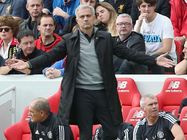 Peter Schmeichel brands Manchester United display against Liverpool 'boring' and calls for Jose Mourinho to change