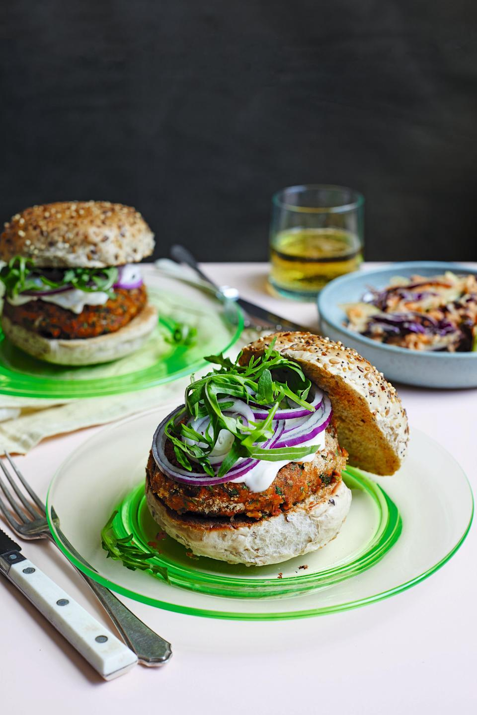 Quick, simple and satisfying burgers for when the need arisesKaty Beskow