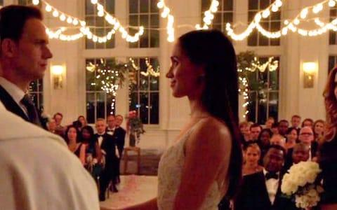 Megan Markle made her last appearance in Suits  - Credit: USA Network / BACKGRID