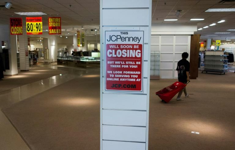 The closing of a J.C. Penney anchor store at a mall in Bloomsburg, Pennsylvania is symptomatic of a wider trend as e-commerce takes an ever larger market share