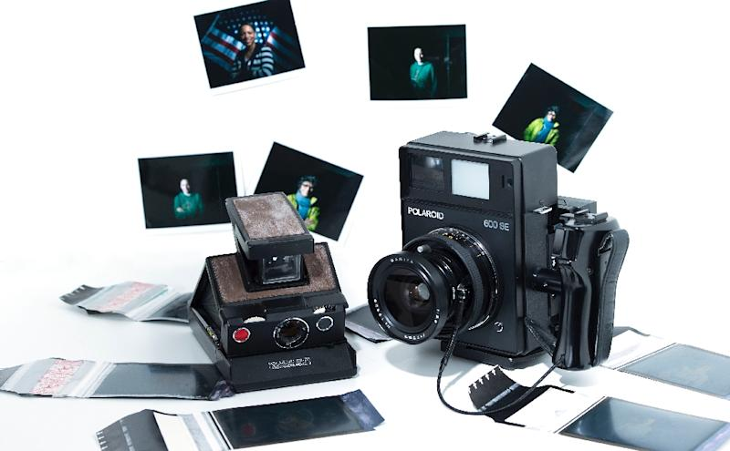 Polaroid-style instant photography is making a comebnack as sales of digital cameras decline (AFP Photo/VALERIE MACON)