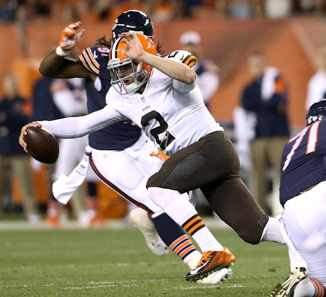 Johnny Manziel not ready yet, but too good for Browns to sit for long