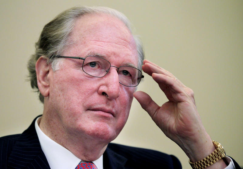 FILE -- In a July 13, 2011 file photo Senate Commerce Chairman Sen. Jay Rockefeller, D-W.Va., presides over a hearing of the committee on Capitol Hill in Washington.   Rockefeller is adding a provision to cybersecurity legislation that would strengthen the requirement to report cybercrimes.  (AP Photo/Manuel Balce Ceneta, file)