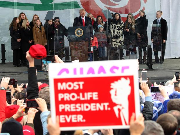 Anti-Abortion Activists Demonstrate In D.C. During Annual March For Life