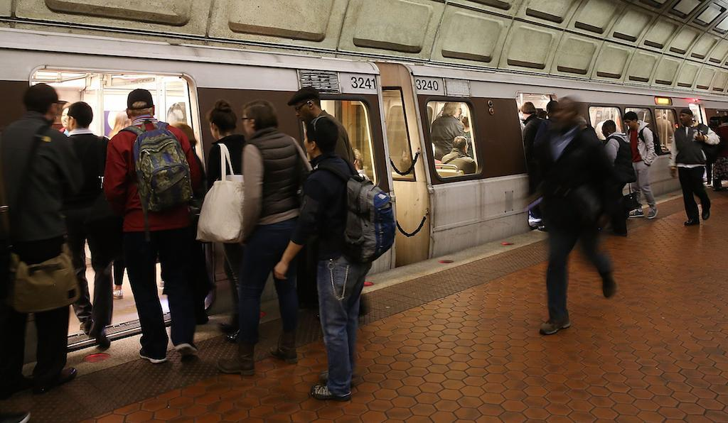 The ACLU is contending that the Metro violated its First Amendment protections: Getty Images
