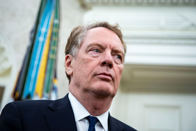 U.S. may boost tariffs on EU goods, wants lower trade deficit - Lighthizer
