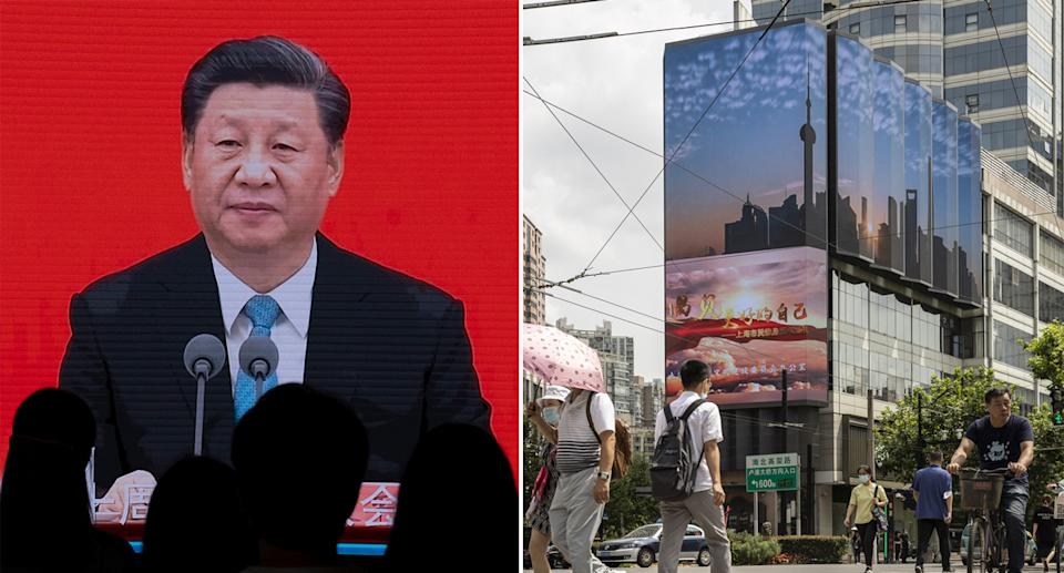 President Xi Jinping has been cracking down on certain sections of society. Source: Getty