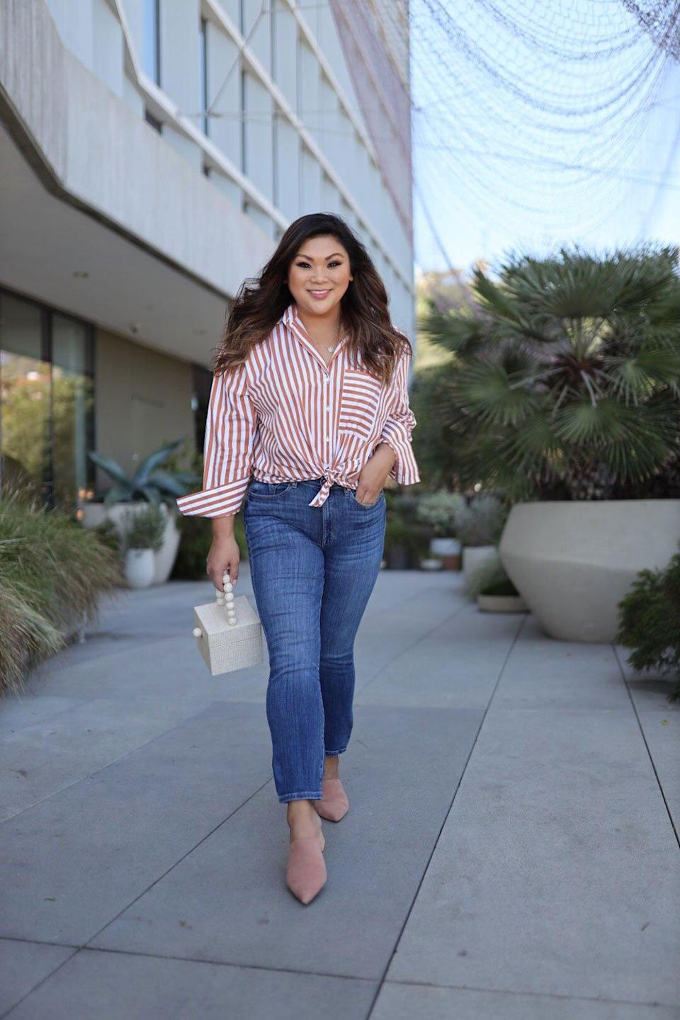 I Tried the Curve-Friendly Jeans With a 3,000 Person Wait List, and Here's My Honest Review
