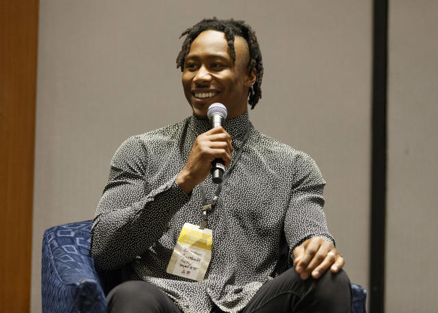 Receiver Brandon Marshall has signed with the Seattle Seahawks. (AP)