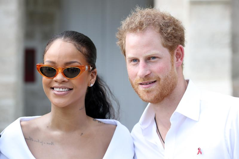 Rihanna was asked by an interviewer why she wasn't invited to the royal wedding and her response is fantastic. What an amazing moment to be honest
