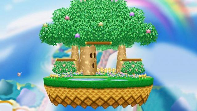 Dream Land is among the Smash 4 stages addressed in a list of proposed rule changes. (Nintendo)